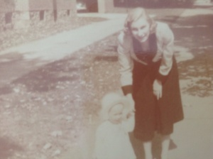 Grandma as a young mother